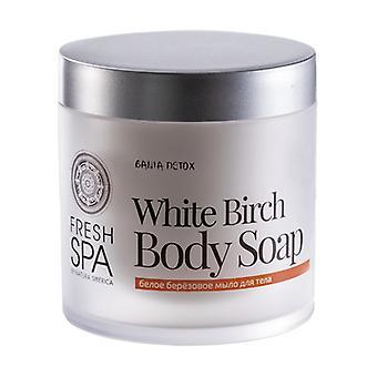 White Birch Nutritious Body Soap 400 ml of cream