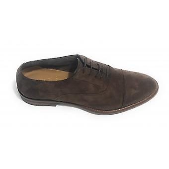 Men's Shoes Ben.ter Francesina In Suede Col. Handmade Moro Head Us18bt25