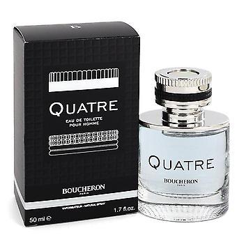 Quatre Eau De Toilette Spray By Boucheron 1.7 oz Eau De Toilette Spray
