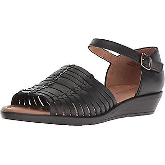 Comfortiva Womens faye Open Toe Casual Ankle Strap Sandals