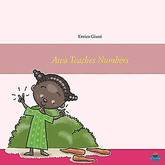 Awa Teaches Numbers - Young Awa teaches numbers to her village by Enri