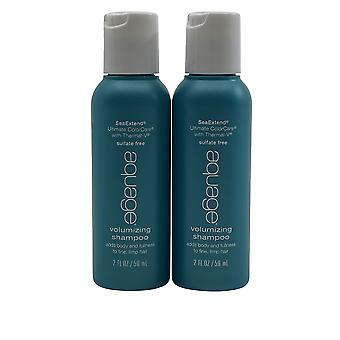 Aquage Volumizing Shampoo Fine & Limp Hair 2 OZ Set of 2
