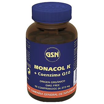 GSN Monacol K Levadura de Arroz Rojo + Q10 90 Comprimidos 273 mg