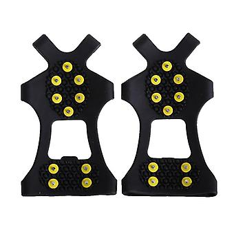 Ice Snow Shoe Spiked Grips, Cleats Crampons, Winter Climbing, Camping, Anti