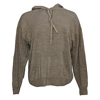 zuda Women's Hoodie Soft Long Sleeve Pullover Brown A390240