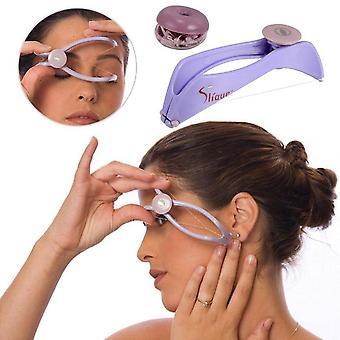 Naiset kasvojen hiustenpoisto jousi kierteitys epilaattori
