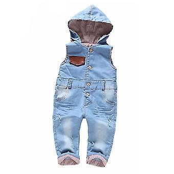 Calitate de top 100% bumbac moale pentru copii baby pantaloni lungi salopete