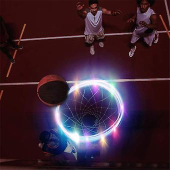 Led Basketball Hoop Light Lamp Ampua Vanteet Aurinkovalo pelaa yöllä Led