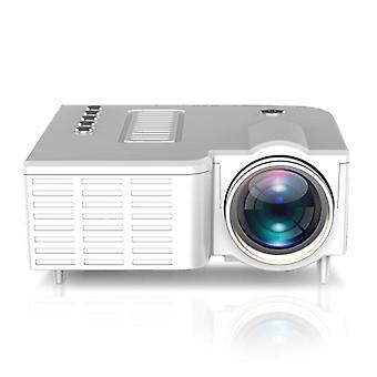 1080P Home Cinema Movie Video Projector LED(White)