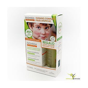 Exomega control complete care atopic skin cream 200ml + oil 100ml 1 unit