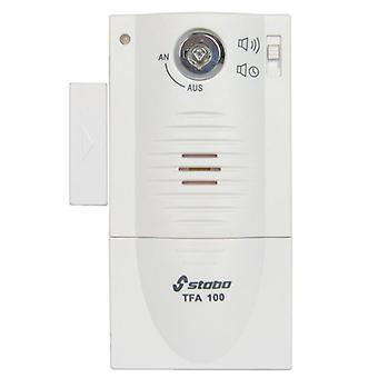 Stabo TFA 100 alarmsysteem voor deur, raam, 90 dB, sleutelactivering, timer, code 51109