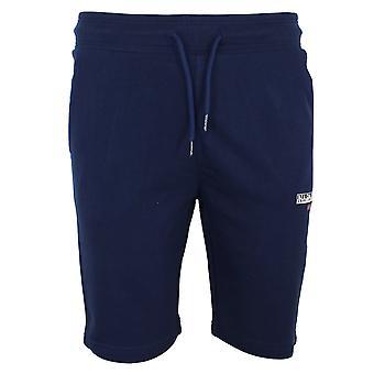 Napapijri n-ice men's medieval blue jog shorts