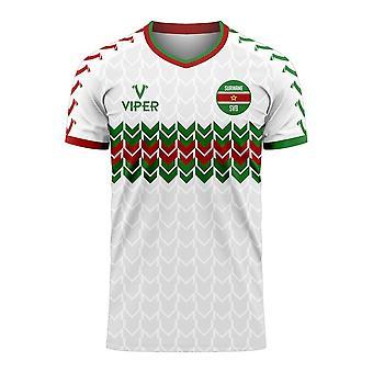 Suriname 2020-2021 Home Concept Football Kit (Viper)
