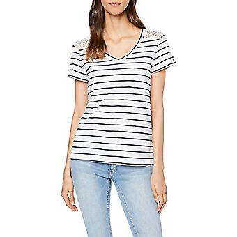 edc av Esprit 069cc1k008 T-Shirt, Vit (Vit 100), X-Small Kvinna