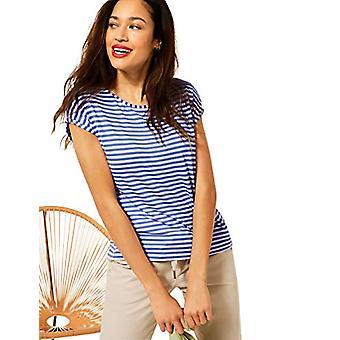 Street One Crista T-Shirt, Velvet Blue, 42 Donna