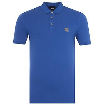 BOSS Passenger Slim Fit Polo Shirt - Royal Blue