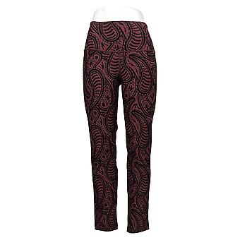 Women with Control Women's Pants Reversible Jeggings Red