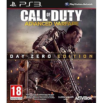 Call Of Duty Advanced Warfare Day Zero Edition PS3 Game