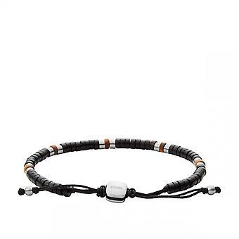 Bracelet Homme Fossil Bijoux-Acier Noir