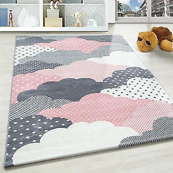 Tappeto per bambini SAMY camere per bambini tappeti design punti cuore