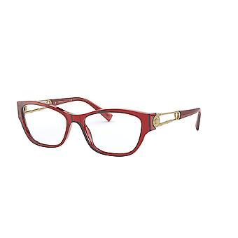 Versace VE3288 388 Transparente rote Brille