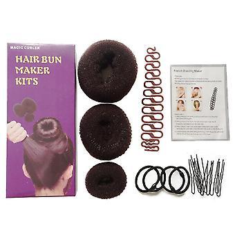 Braided Hair Bun Maker Kit Hair Tool Kit Hairdressing Set