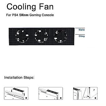 تبريد مروحة الحرارة العادم التبريد التحكم في درجة الحرارة لPs4 سليم