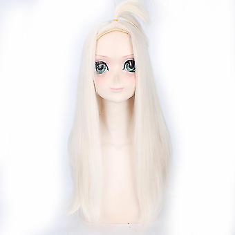 Fee Schwanz Anime Perücken Mirajane-Strauss Halloween lange synthetische Haar Perücken