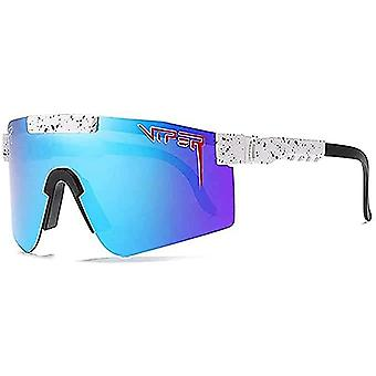 Pit-viper Polarized Sunglasses Uv400 Outdoor Riding Surfing Windproof Glasses Unisex