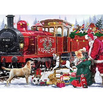 Otter House Santa's Express Jigsaw Puzzle (1000 Pieces)
