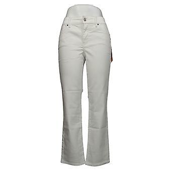 NYDJ Femmes Jeans Petite Straight Uplift dans Cool Embrace White A395678