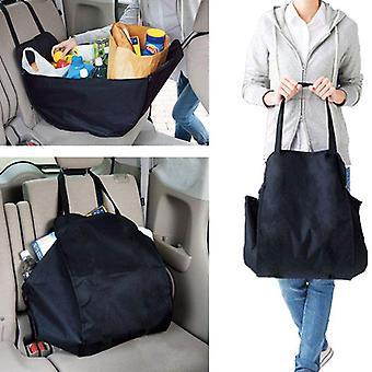 Car Sundries Storage Bag Oxford Cloth Finishing Storage Bag Foldable Shopping Bag Outdoor Travel Bag