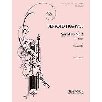 Hummel: Sonatina No. 2 Op. 52a Cello And Piano
