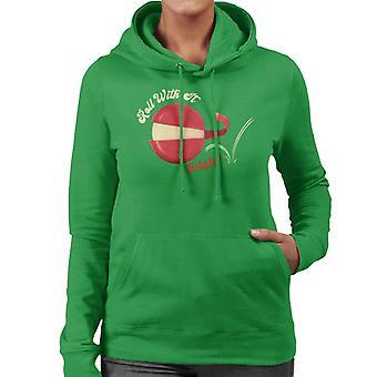 Baby Bel Roll Med Det Kvinnors Hooded Sweatshirt