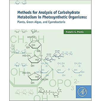 Methods for Analysis of Carbohydrate Metabolism in Photosynthetic Organisms: Plants, Green Algae and Cyanobacteria