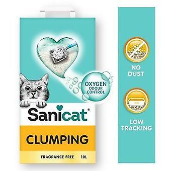 Sanicat Areia Aglomerante Clumping Sem Fragrância (Gatos , Pêlo e higiene , Areias)