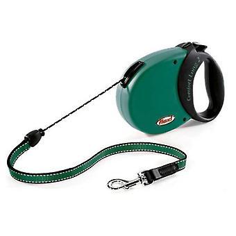 Flexi Comfort Lange Leiband Groen (Honden , Halsbanden en Riemen , Riemen)