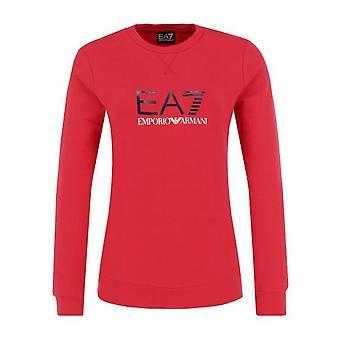 Men's Sweatshirt without Hood Armani Jeans 6ZTM38 TJ24Z Red