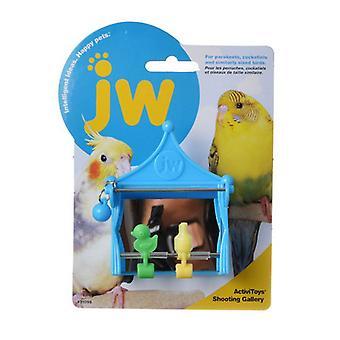 "JW Insight Shooting Gallery - Bird Toy - Shooting Gallery - 2.75""L x 1.75""W x 3.75""H"