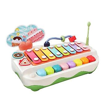 Kinderen doen alsof plastic piano multifunctionele accessoires educatief spelen muzikaal leren speelgoed