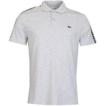 Lacoste Poloshirt met taped sleeve