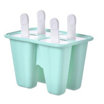 Mehujäämuotit 4 jäätarjotinta Silikonijää Pop-muotit uudelleenkäytettävissä helposti