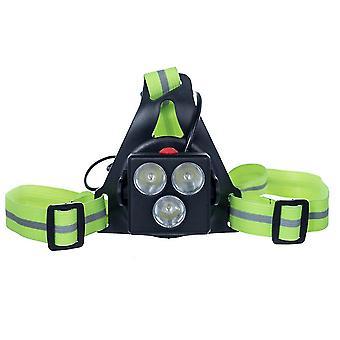 Lumière de sécurité sportive avec bande élastique réglable