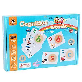 Listy pasujące karty puzzle dziecko puzzle zabawki edukacyjne