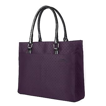 Laptop Tote Bag, 15.6 Inch Women Shoulder Bag Nylon Briefcase Casual Handbag Laptop Case,purple
