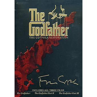 Gudfadern Collection - Gudfadern samling (Coppola Restoration) [DVD] USA import