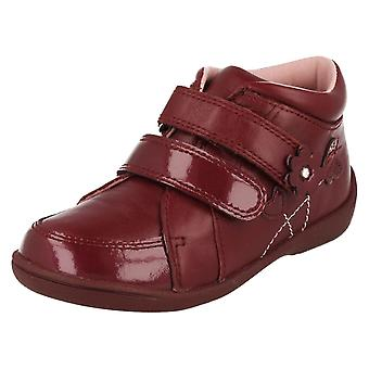 Infant Girls Startrite Rip Tape Fastened Ankle Boots SRSS Lily