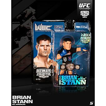 Round 5 UFC Series 12 LE Action Figure-Brian Stann-WEC Championship Edition