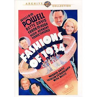Importer des modes des USA 1934 [DVD]