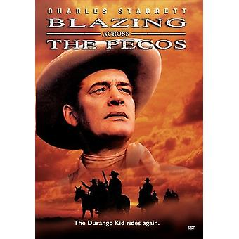 Import USA Blazing à travers le Pecos [DVD]